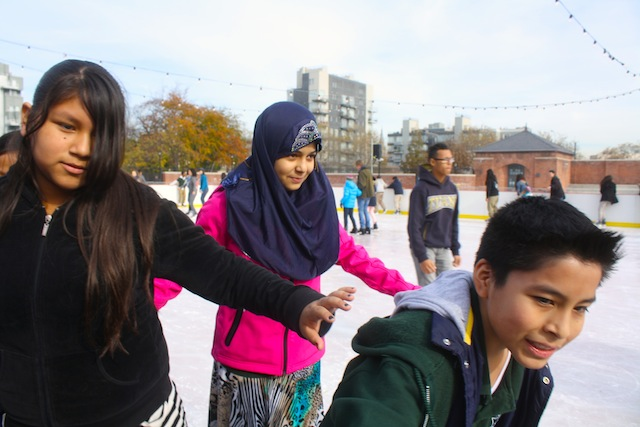 mccarren park ice rink children