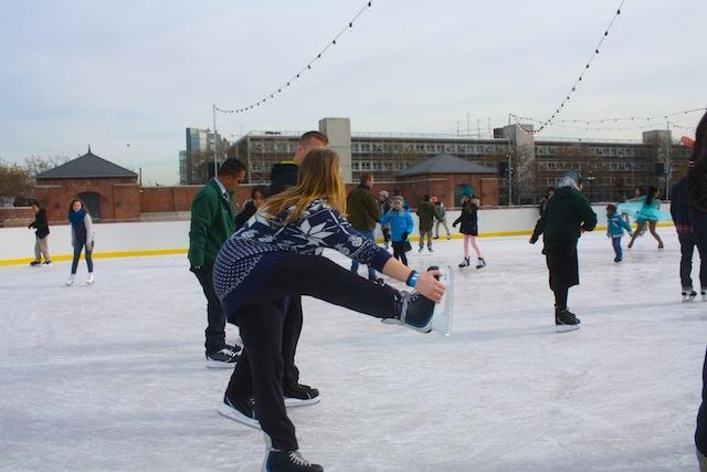 mccarren park ice rink figure skater
