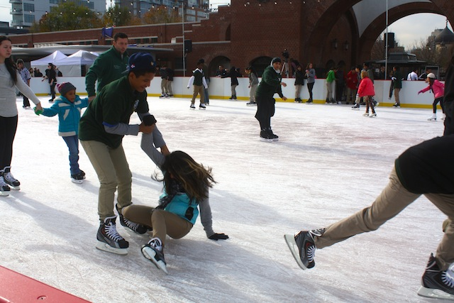 Cold as ice: The McCarren rink closes on January 5, so get there now
