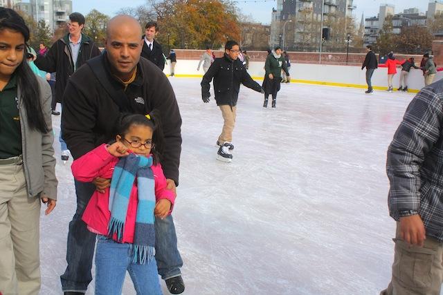 mccarren park ice rink parent help
