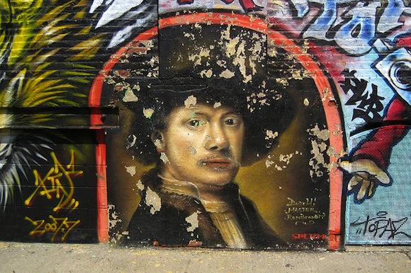 rembrandt self portrait 5 pointz