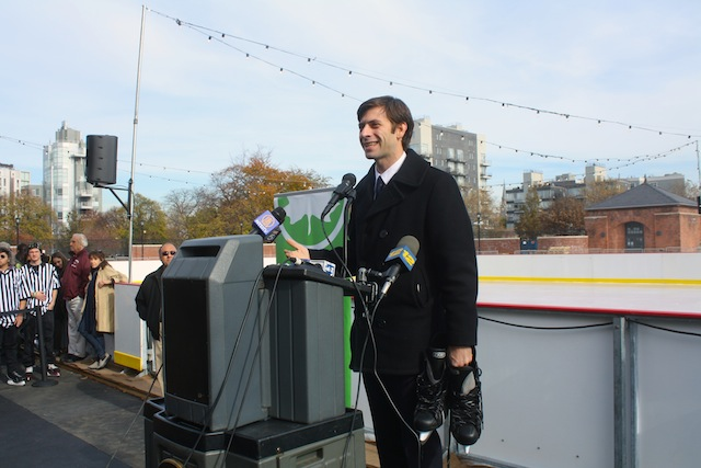 stephen levin mccarren ice rink