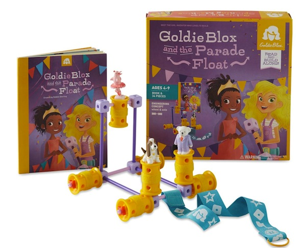 25 gifts under $25, No. 25: Goldie Blox and the Parade Float!