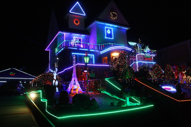 extravagance redefined a tour through the dyker heights christmas lights
