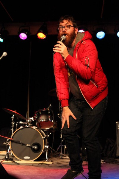 Special guest comedian Mike Lawrence. Photo by Patrick Phillips.