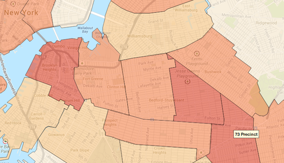 nypd crime map
