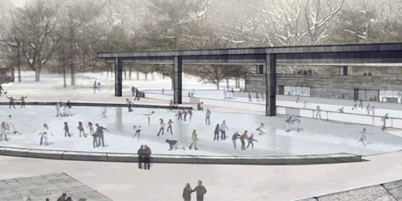 The Prospect Park ice rink opens on December 20