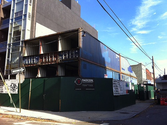 Williamsburg is getting another shipping container house