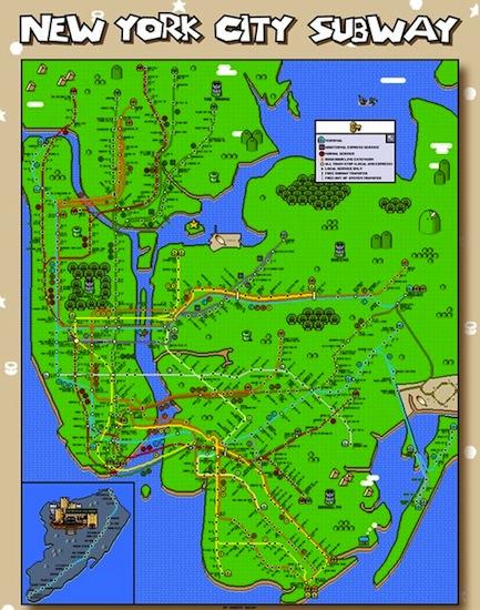 25 Gifts Under 25 No 6 Super Mario World Subway Map