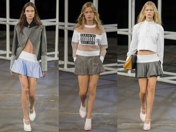 Alexander Wang is bringing this look to BK via annexmagazine.com