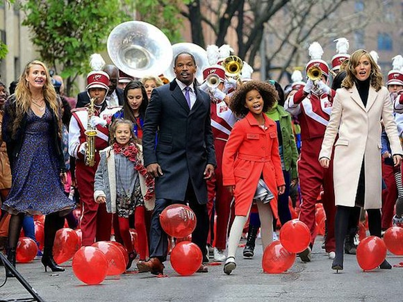 Go audition to be a well-paid extra in the 'Annie' remake today
