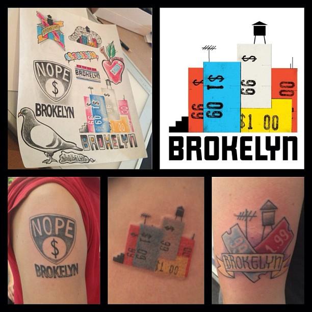 brokelyn tattoos
