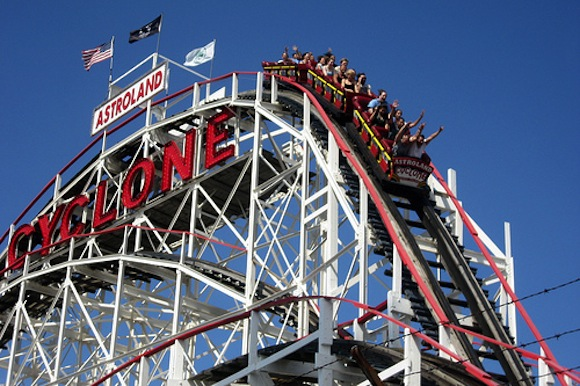 Spend your summer riding the Cyclone on your lunch break