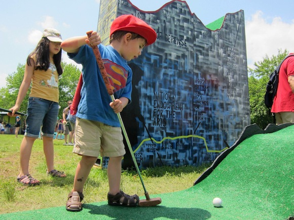 Governors Island mini-golf course from FIGMENT NYC wants your design ideas