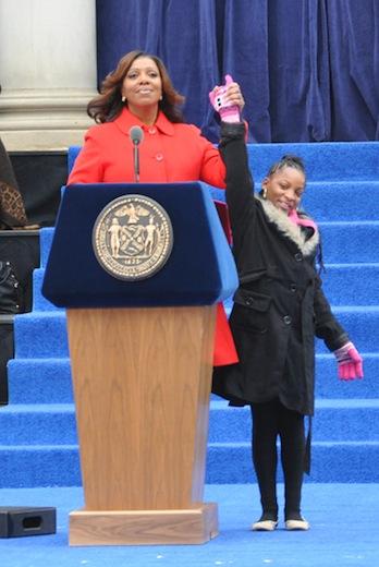 letitia james dasani inauguration