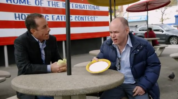 Jerry Seinfeld and Todd Barry spent a day hanging in Coney Island