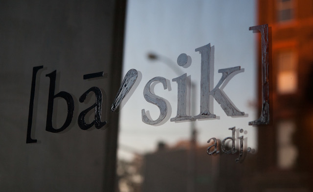 Bars We Love: It's OK to be ba'sik!