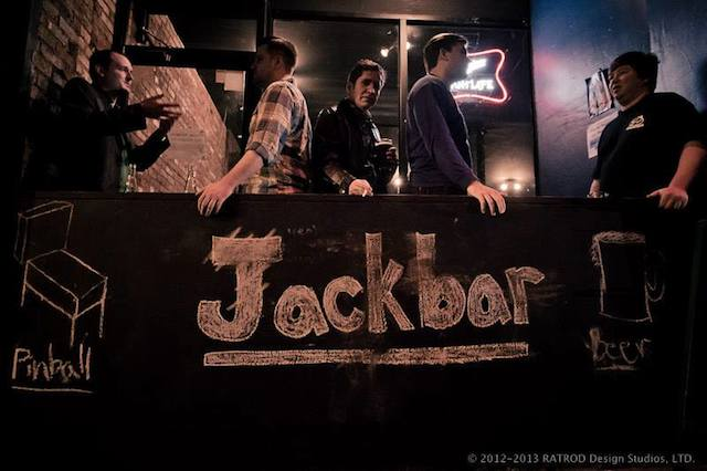 Bars We Love: Play a mean pinball at Jackbar!