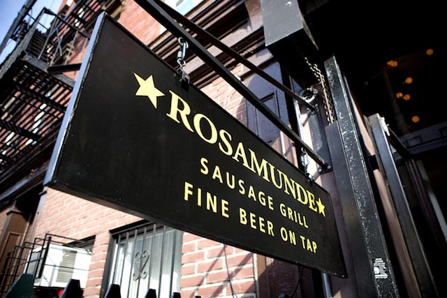 Bars We Love: Stroll in the sausage kingdom of Rosamunde!