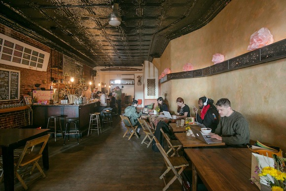 Map pegs BK's best coffee shops to their subway stops