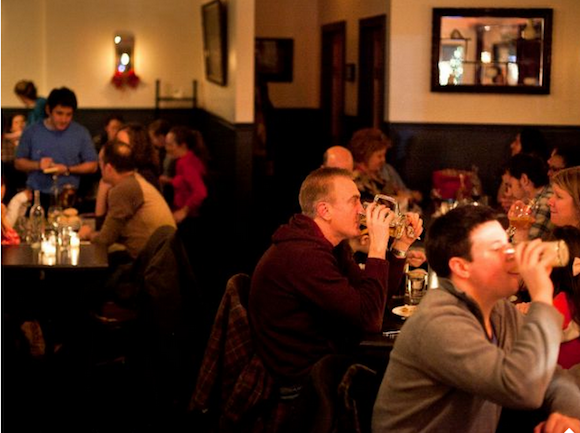 Bars We Love: The very vibrant Hamilton's!