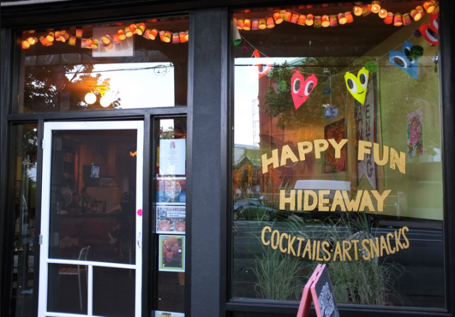 Bars We Love: Go seek Happyfun Hideaway!