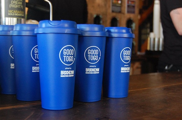 Would you use the new reusable 'Good to Go' coffee cups offered in DUMBO?