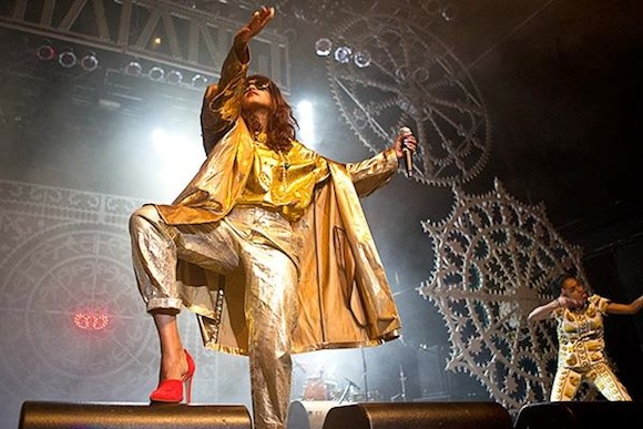 Fly like paper, get high like planes: See M.I.A. in Queens