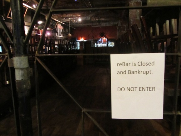 Help the weddings and former employees derailed by reBar's bankruptcy