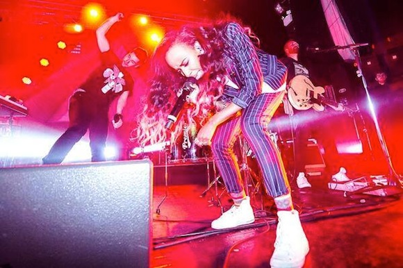 Clearly a good time: See a free Angel Haze/Death Set show at House of Vans