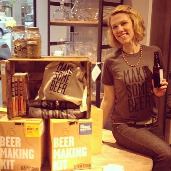 SIgn up for our weekly email and win tickets to a Brooklyn Brew Shop homebrew class!