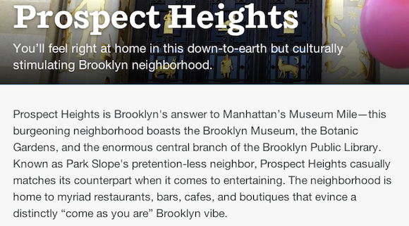 prospect heights airbnb