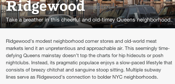 ridgewood airbnb