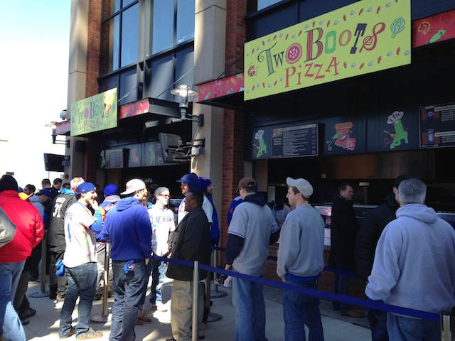 Forget Shake Shack, Two Boots is Citi Field's best food