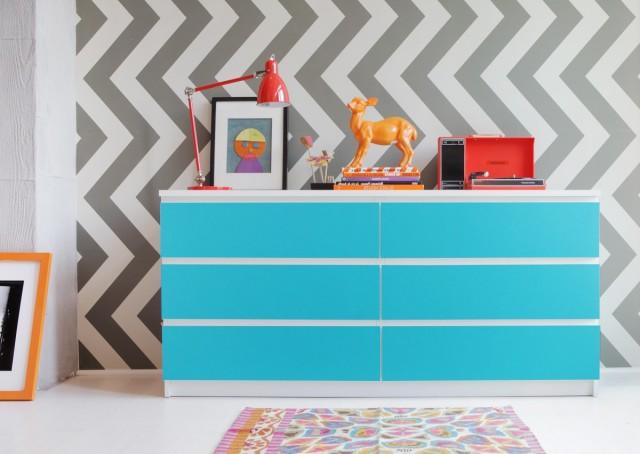 Malm Dresser Azure