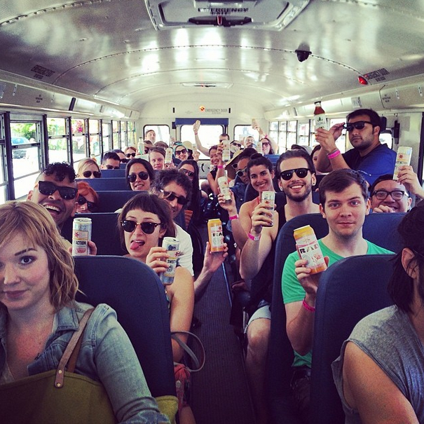 Summer PSA: Don't be a jerk about free beer on the Beach Bus