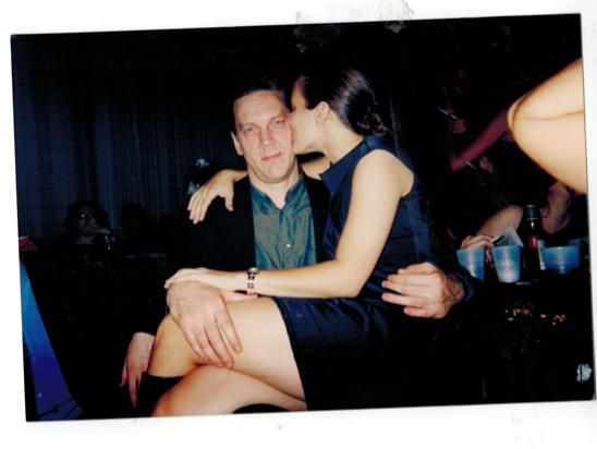 Sohn and coworker Tony Millionaire in her NY Press days.
