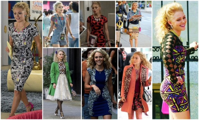 Check out a big sale on 80s fashions from a canceled TV show (it's probably Carrie Diaries)