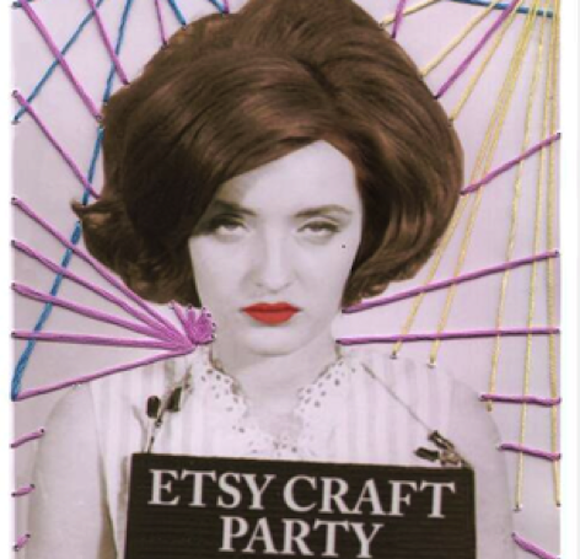 Spiff up your old snapshots at an Etsy Craft Party tonight in DUMBO