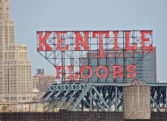 Brad Lander has a 'Save the Kentile' sign petition