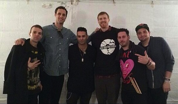 How Brooklyn's The So So Glos hung out with NBA champion Matt Bonner