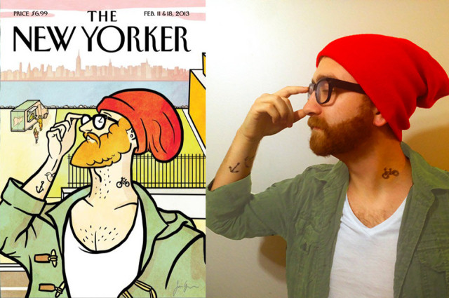 The New Yorker's new audiencer. Via Redditor busterbrown123