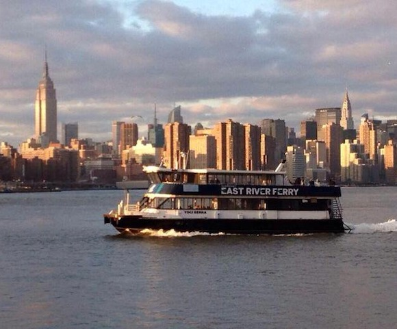 Hey, good news: the Greenpoint ferry should be back this week