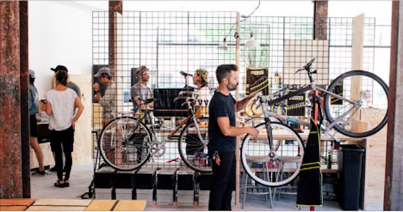 Levi's offering free bike tune-ups, coffee and wifi in Williamsburg