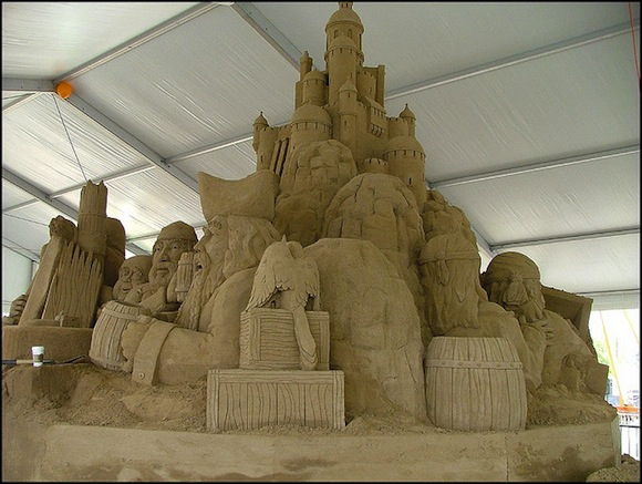 coney island sand sculpture competition