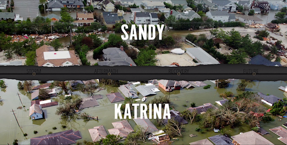 Check out a trailer for a combination Hurricanes Katrina/Sandy documentary