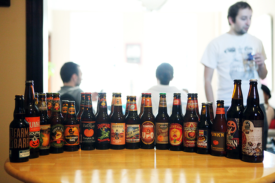 Which pumpkin beer, out of 17, reigns supreme?