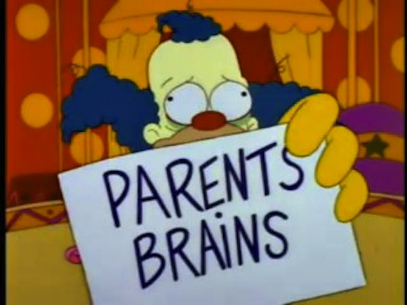 Fortunately, you don't need to bring your parents' brains. You could if you want though.