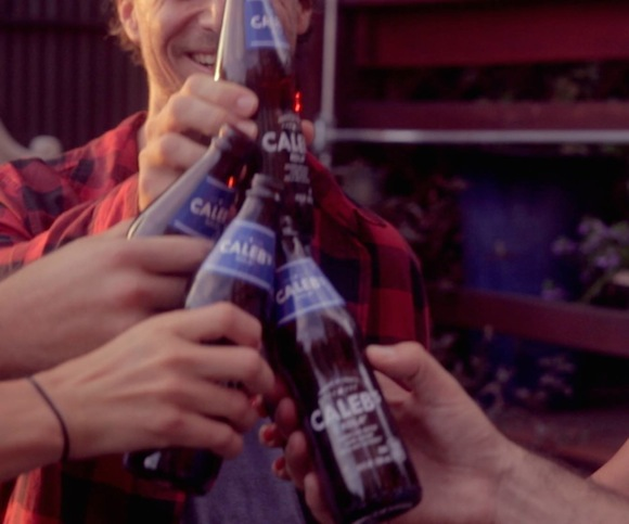 Introducing Caleb's Kola, a not-at-all fake craft soda NOT from PepsiCo