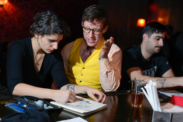 Drink and draw, and 13 other free ideas this week